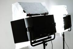 Studio lighting background. Detail of Studio lighting background stock photo