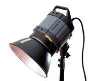 Studio lighting equipment Royalty Free Stock Images
