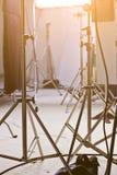 Studio lighting equipment. Detail of Studio lighting equipment royalty free stock photography