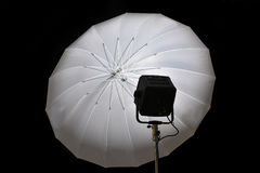 Studio lighting equipment Stock Photo