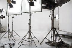Studio lighting stock images