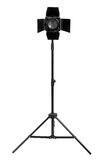 Studio lighting isolated on the white background Stock Images