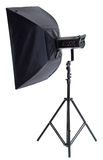 Studio lighting. Isolated on white background royalty free stock photography