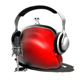 In the studio (live) Royalty Free Stock Photo