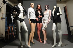 Studio Mannequin Royalty Free Stock Photos