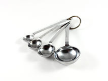 Studio Measuring Spoons Stock Photography