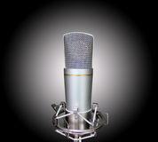 Studio mic Royalty Free Stock Images