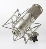 Studio Microphone. On white background stock photo