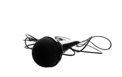 Studio Microphone Stock Photography