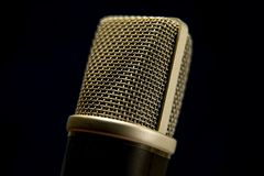 The Studio microphone royalty free stock photography