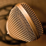 Studio microphone Stock Photos