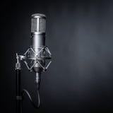 Studio microphone Stock Photos