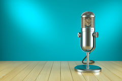 Studio microphone stand. On the AIR Stock Image