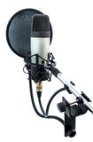 Studio microphone 2. Studio microphone  on white background Stock Photo