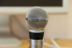 Studio microphone Royalty Free Stock Photo