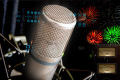 Studio-Mikrofon Lizenzfreie Stockbilder