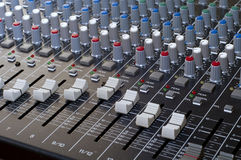 Studio Mixer Royalty Free Stock Images