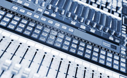 Studio mixer royalty free stock image