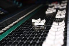 Studio mixer Stock Photo