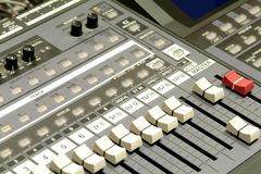 Studio Mixing Station Royalty Free Stock Image