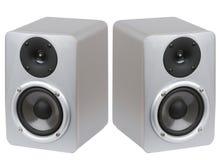 Studio monitor speakers Stock Image
