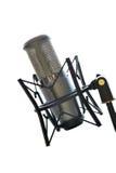Studio musical microphone Stock Photography