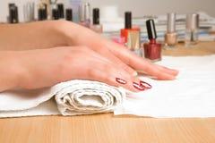 Studio nail Royalty Free Stock Photos