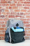 Backpack. A studio photo of a backpack Royalty Free Stock Image