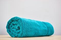 Bath Towels. A studio photo of bath towels Stock Photos