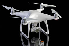 Studio photo of a drone aircraft Stock Images
