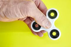 Finger Spinner royalty free stock photography