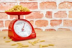 Kitchen Scales Stock Image