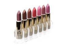 Studio photo of lipsticks Royalty Free Stock Image