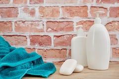 Liquoid Soap Dispenser. A studio photo of a liquid soap dispenser Stock Photo