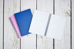 Note Book Pad. A studio photo of a notebook pad Royalty Free Stock Image