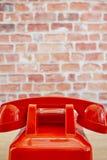 Rotary Telephone. A studio photo of a rotary telephone Royalty Free Stock Photo