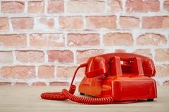 Rotary Telephone. A studio photo of a rotary telephone Royalty Free Stock Photos