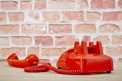 Rotary Telephone. A studio photo of a rotary telephone Stock Photos