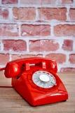 Rotary Telephone. A studio photo of a rotary telephone Stock Image