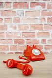 Rotary Telephone. A studio photo of a rotary telephone Royalty Free Stock Photography
