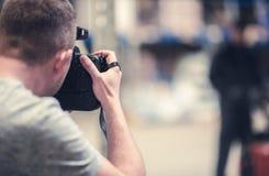 Studio Photo Session Stock Photos
