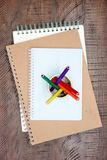Sketch Pad. A studio photo of a sketch pad Royalty Free Stock Photos