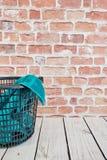 Washing Basket. A studio photo of a washing basket Stock Image