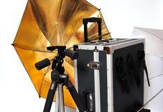 Studio photographer accessories Royalty Free Stock Image