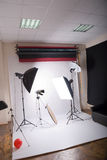 Studio photographique Photos libres de droits