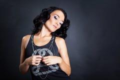 Studio portrait Stock Photography