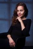 Studio portrait of a amazing beautiful woman Stock Photo