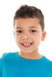 Studio portrait Antillean toddler boy Royalty Free Stock Photos