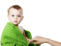 Studio portrait baby Stock Photo