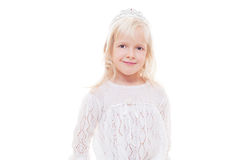 Studio portrait of beautiful little girl Royalty Free Stock Photos